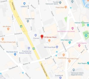 Nanaimo office location map
